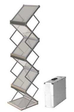 סטנד לקטלוגים זיגזג 6 תאים A4